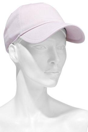 f7a0d719c84890 RAG & BONE Marilyn leather-trimmed cotton-twill baseball cap