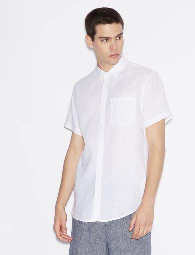 e7d5bc38d0 Armani Exchange Men s Shirts - Dress   Casual