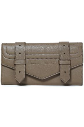 PROENZA SCHOULER PS1 textured-leather wallet