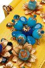 DOLCE & GABBANA Embellished lizard-effect leather iPhone case