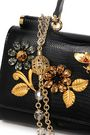 DOLCE & GABBANA Embellished lizard-effect leather iPhone case
