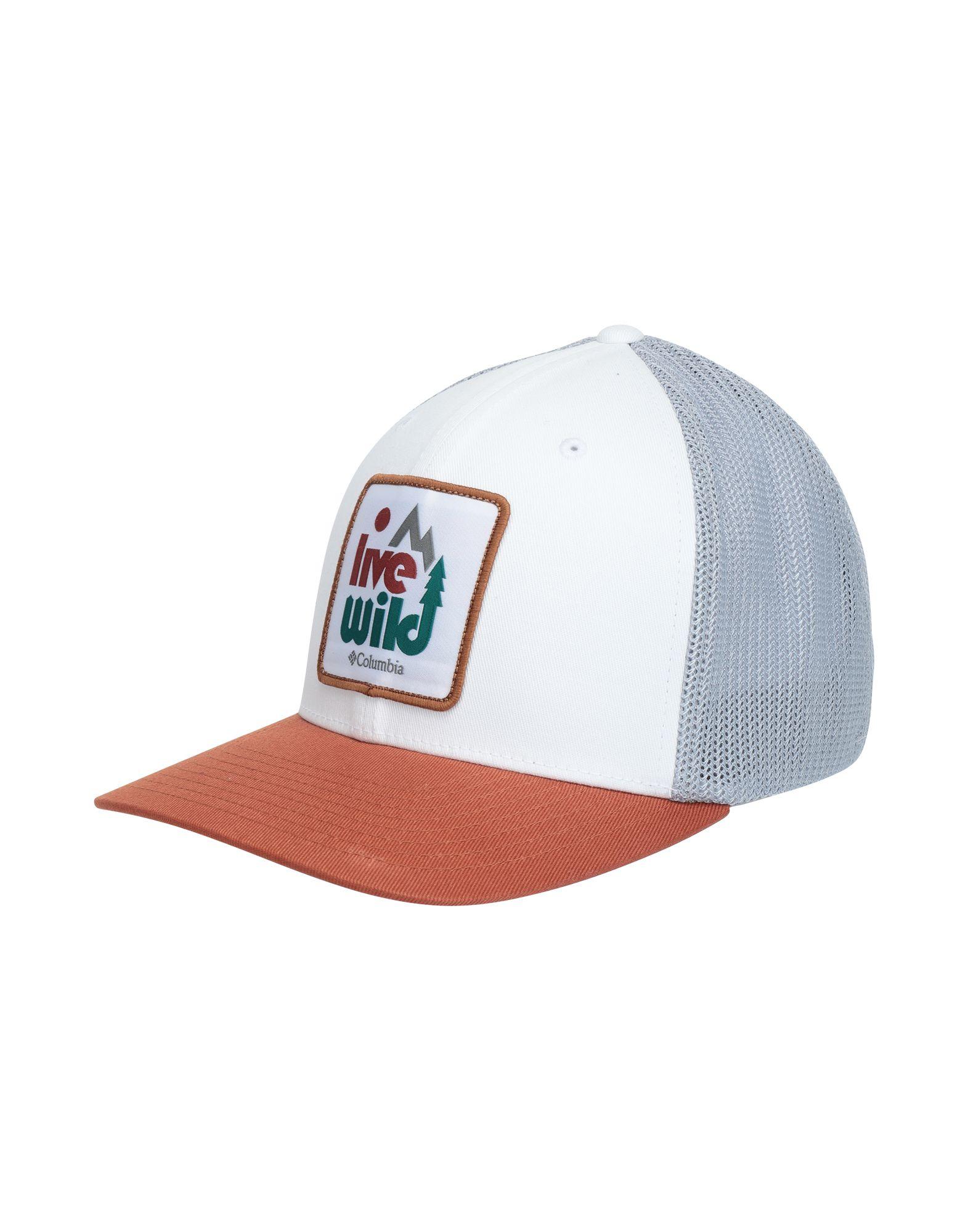 《セール開催中》COLUMBIA Unisex 帽子 ホワイト S/M コットン 98% / ポリウレタン 2% Trail Ethos Mesh Hat