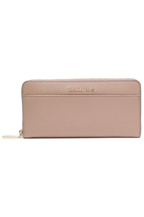 MICHAEL MICHAEL KORS Pebbled-leather wallet
