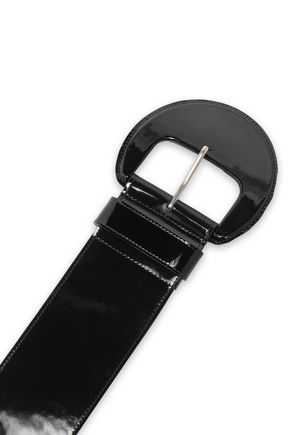 MICHAEL KORS COLLECTION Patent-leather belt