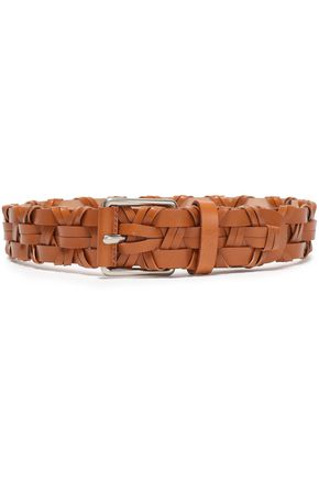 MICHAEL KORS COLLECTION Woven leather belt