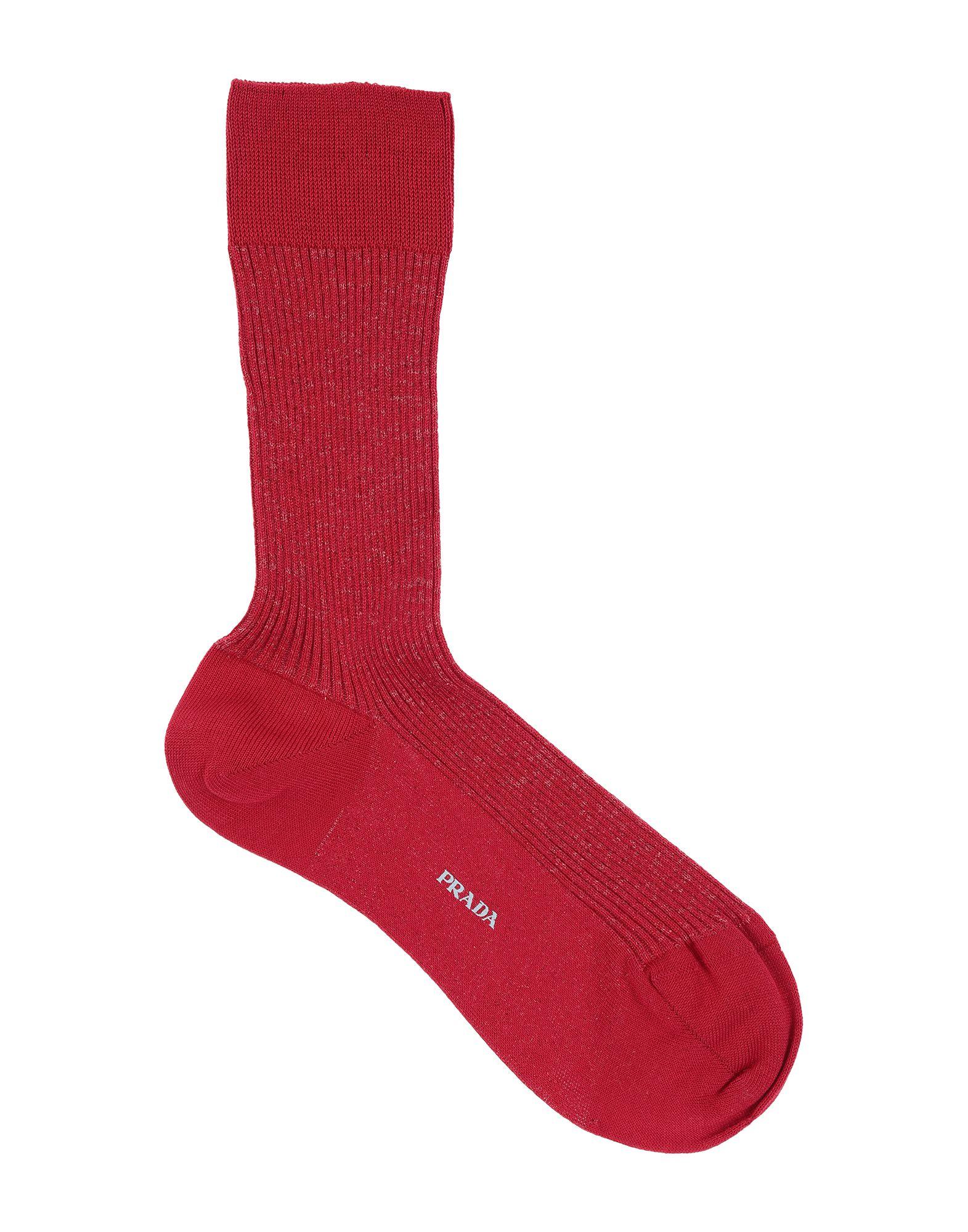 PRADA SPORT Короткие носки prada sport мокасины