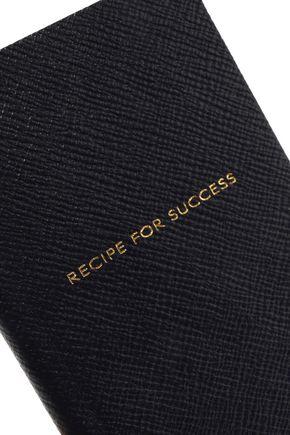SMYTHSON Panama textured-leather notebook