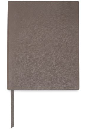 SMYTHSON Pebbled-leather notebook