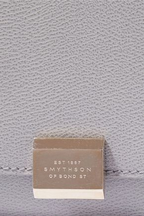 SMYTHSON Grosvenor textured-leather continental wallet