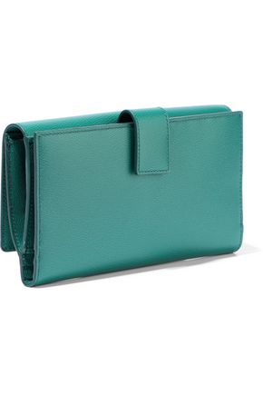 SMYTHSON Grosvenor textured-leather continental wallet
