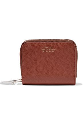 SMYTHSON Panama textured-leather coin purse