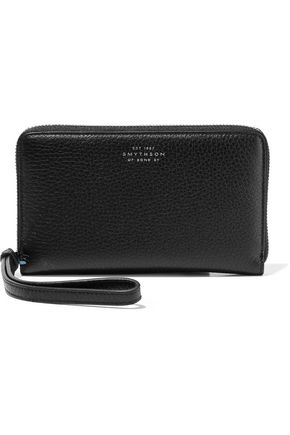 SMYTHSON Burlington textured-leather wallet