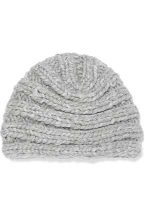 EUGENIA KIM Dominique mélange ribbed wool-blend turban