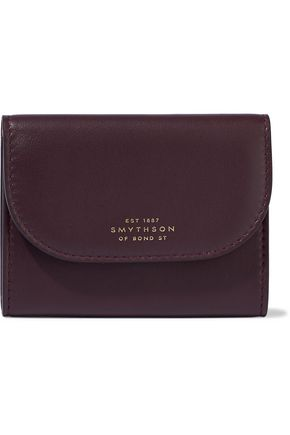 SMYTHSON Connaught leather cardholder