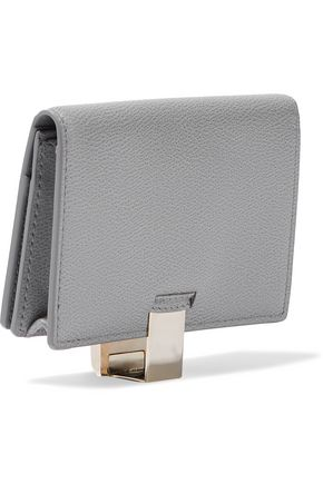 SMYTHSON Grosvenor textured-leather cardholder