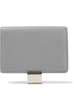 SMYTHSON Grosvenor textured-leather cardholder