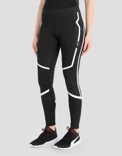 Women's Scuderia Ferrari running leggings