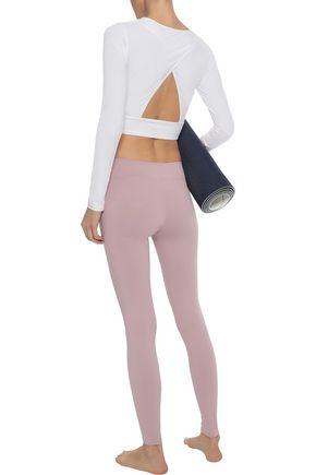 LIVE THE PROCESS V stretch-Supplex leggings