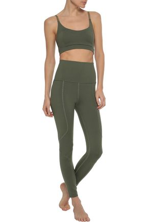 LIVE THE PROCESS Geometric stretch-Supplex leggings