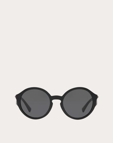 ROUND ACETATE SUNGLASSES WITH STUDS
