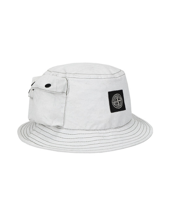 Cap 99466 CANVAS PLACCATO STONE ISLAND - 0
