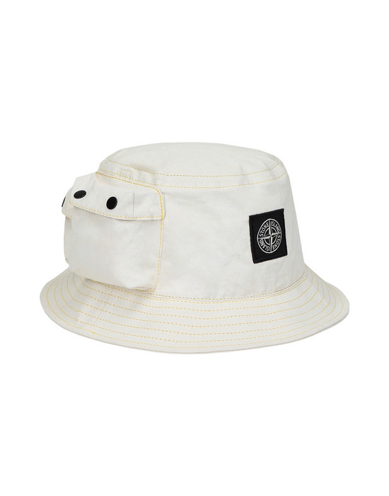 STONE ISLAND Cappello 99466 CANVAS PLACCATO
