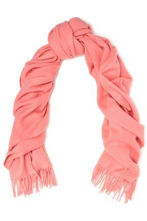 RAG & BONE Classic fringed brushed-wool scarf