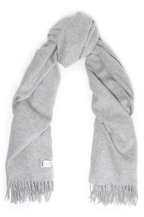 RAG & BONE Fringe-trimmed wool scarf