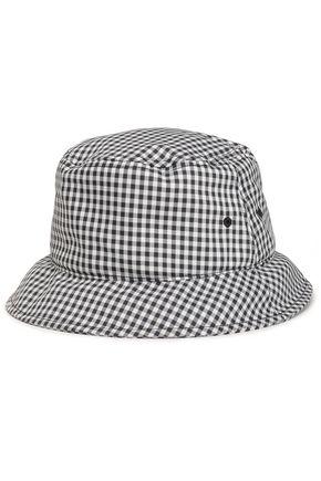 RAG & BONE Gingham woven hat