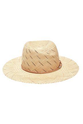RAG & BONE Appliquéd straw Panama hat
