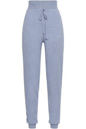 LIVE THE PROCESS Mélange stretch-knit track pants
