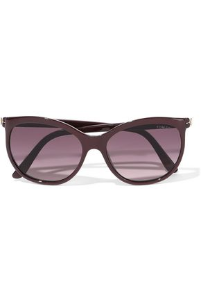TOM FORD Geraldine D-frame acetate sunglasses