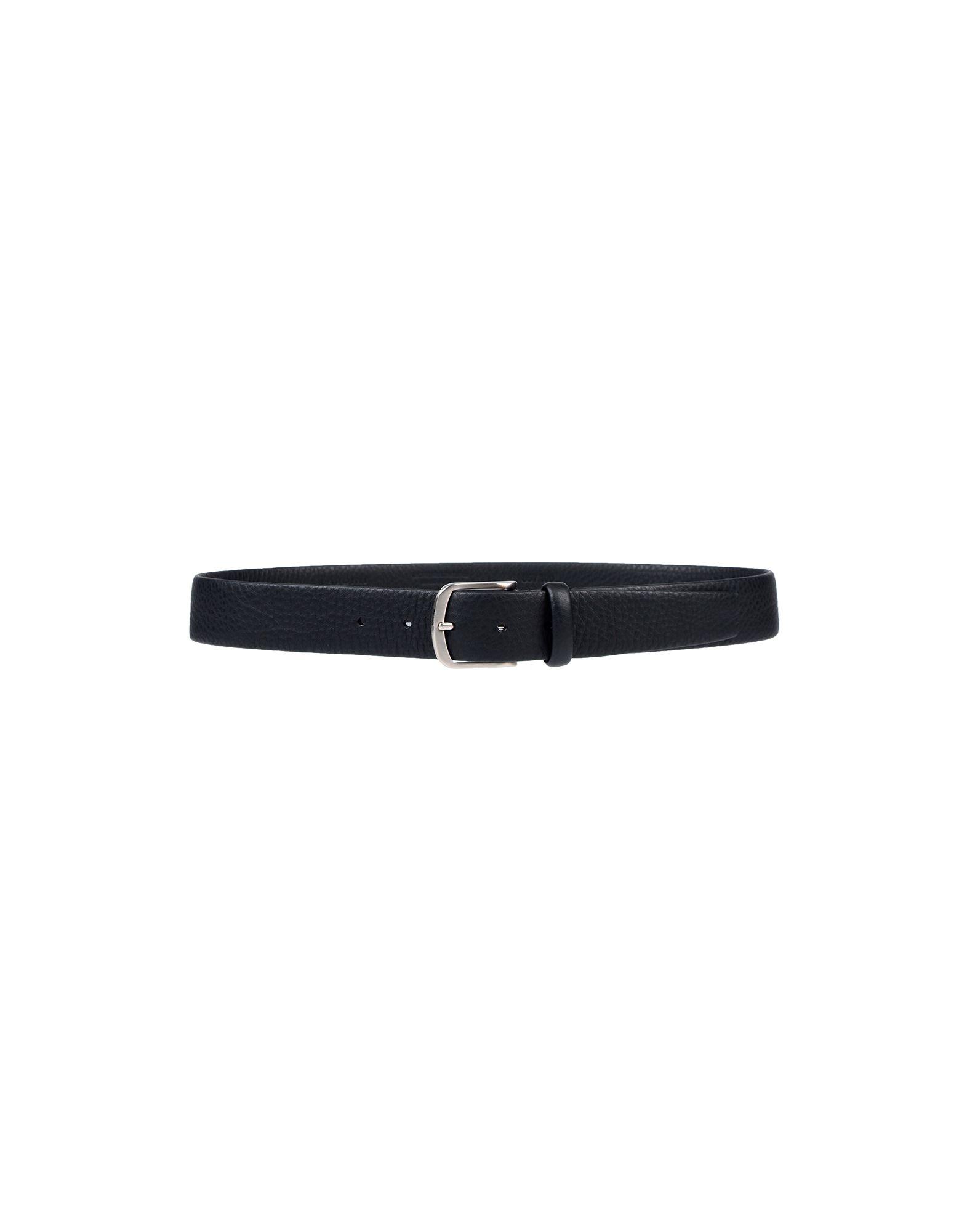 《セール開催中》LARDINI メンズ ベルト ブラック 90 革