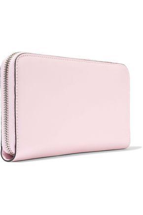 FENDI Appliquéd leather continental wallet