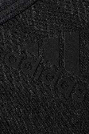 ADIDAS ORIGINALS Cutout jacquard-knit sports bra