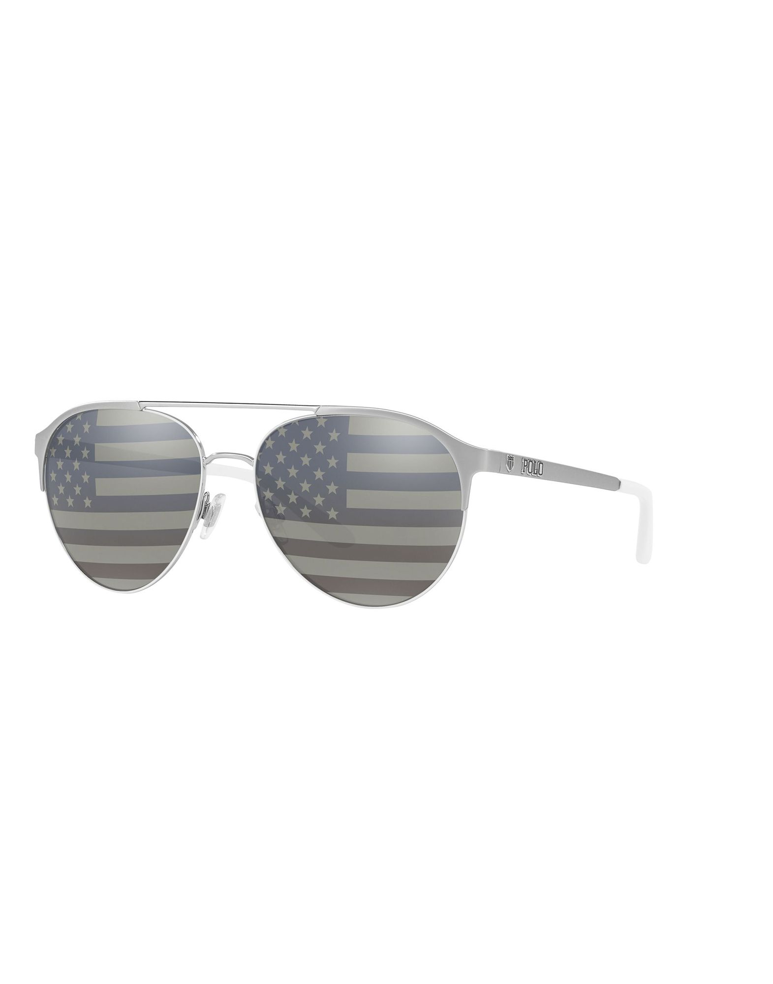 Polo Ralph Lauren Sunglasses In Silver