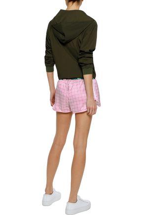 ADIDAS ORIGINALS Printed satin shorts