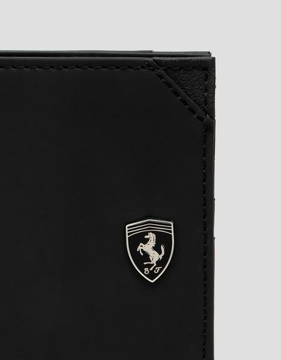 Scuderia Ferrari Online Store - Men's horizontal Hyperformula vertical wallet - Horizontal Wallets