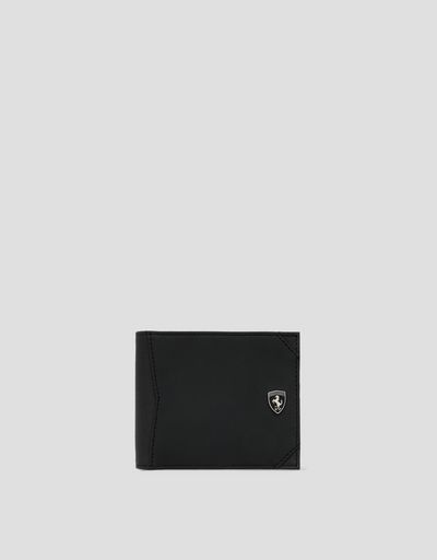 Men's horizontal Hyperformula wallet with change pocket
