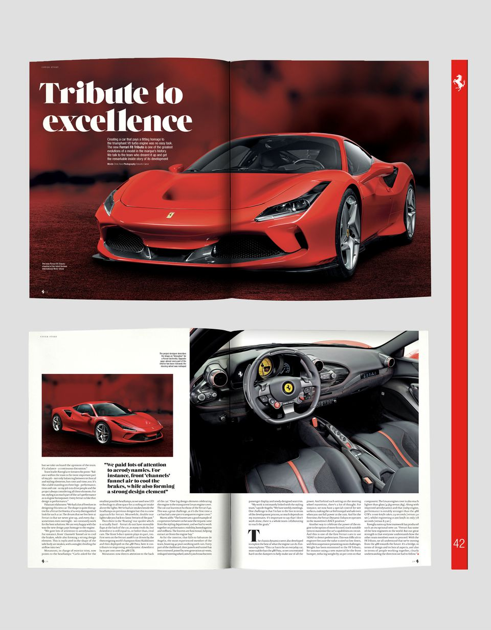 Scuderia Ferrari Online Store - The Official Ferrari Magazine issue 42 - Books
