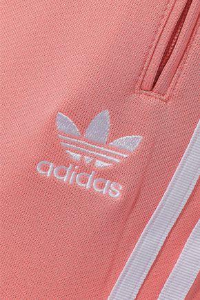 ADIDAS ORIGINALS Striped jersey track pants