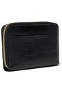 DOLCE & GABBANA Lizard-effect leather wallet