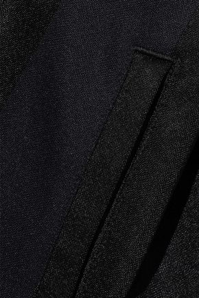 ADIDAS ORIGINALS Striped satin-jersey track jacket
