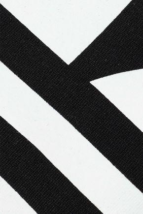 ADIDAS ORIGINALS Printed stretch-cotton jersey tank