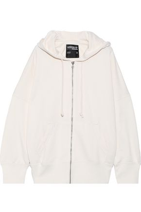 ADIDAS ORIGINALS Kaval embroidered French cotton-blend terry hoodie