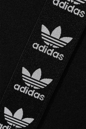 ADIDAS ORIGINALS Stretch-cotton jersey leggings