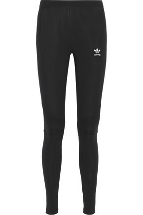 ADIDAS ORIGINALS Printed stretch-cotton jersey leggings