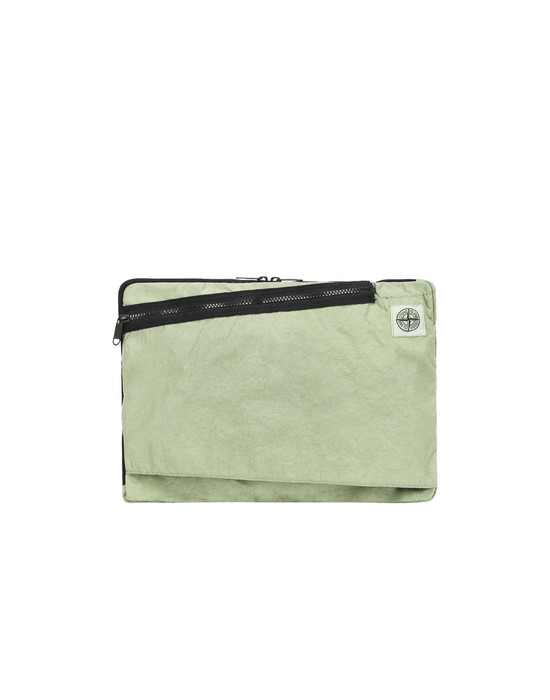 STONE ISLAND 91570 Laptop case Man Pistachio Green