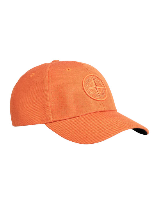 STONE ISLAND 99175 Cap Man Orange