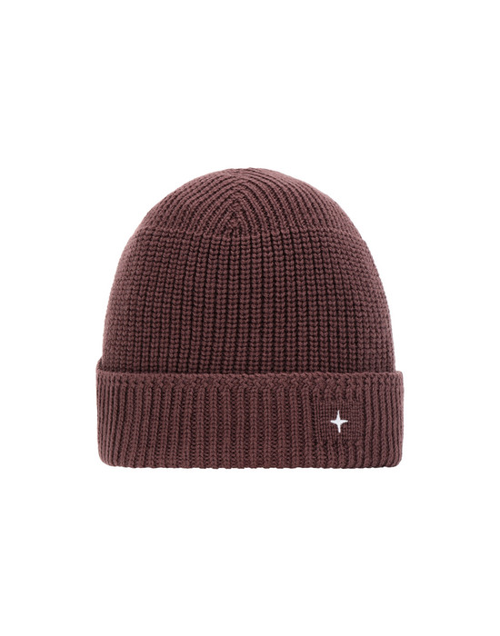 STONE ISLAND N05C3 Hat Man Dark Burgundy